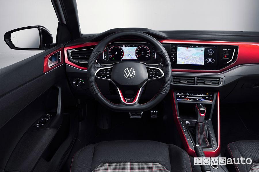 Plancia strumenti abitacolo nuova Volkswagen Polo GTI