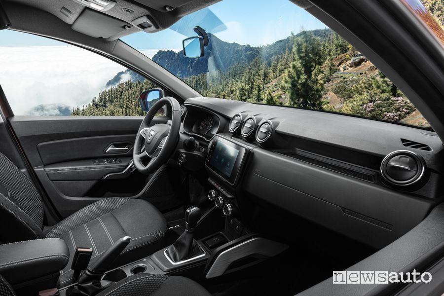 Abitacolo nuovo Dacia Duster