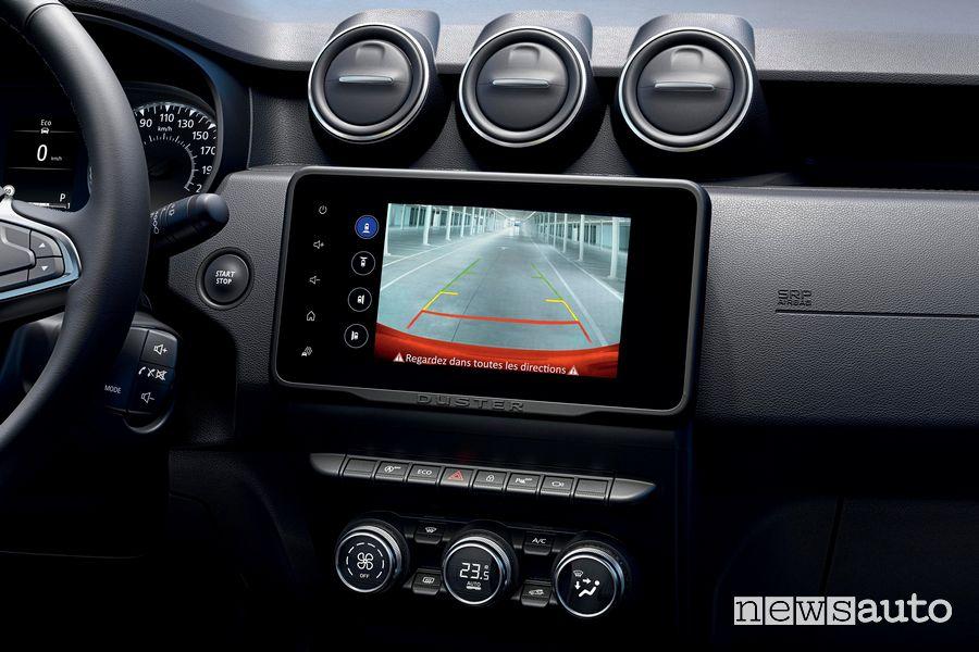 Touchscreen retrocamera abitacolo nuovo Dacia Duster