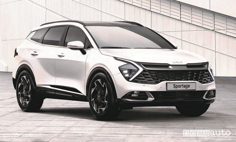 Nuovo Kia Sportage 2022