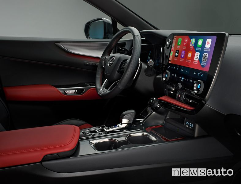 Plancia strumenti abitacolo Lexus NX 450h+