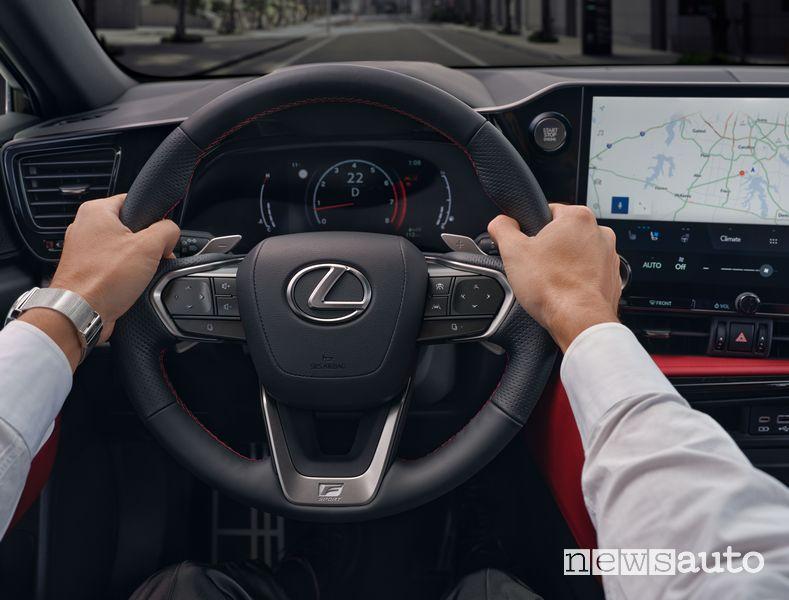 Volante abitacolo nuovo Lexus NX