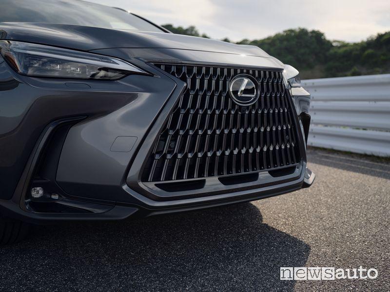 Griglia anteriore nuovo Lexus NX