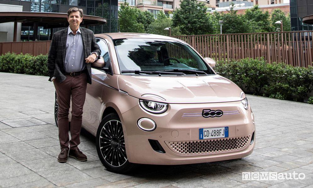 Olivier François, CEO del marchio Fiat, annuncia che il brand italiano sarà solo elettrico