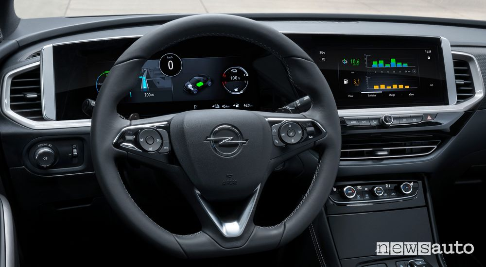 Nuovo Opel Grandland, infotainment