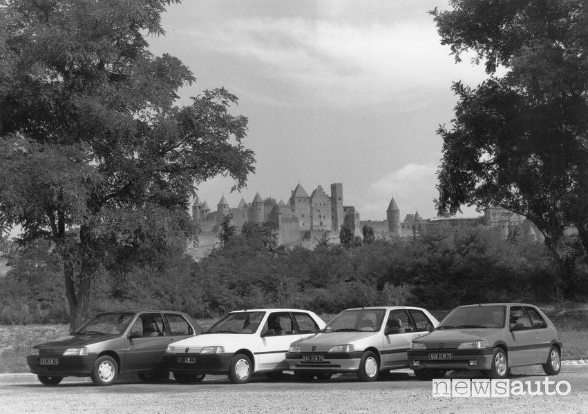 Gamma Peugeot 106 del 1991