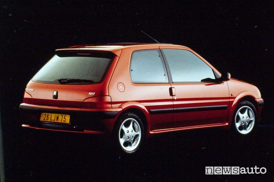 Peugeot 106 GTI del 1996