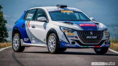 Nuova livrea Peugeot 208 Rally4