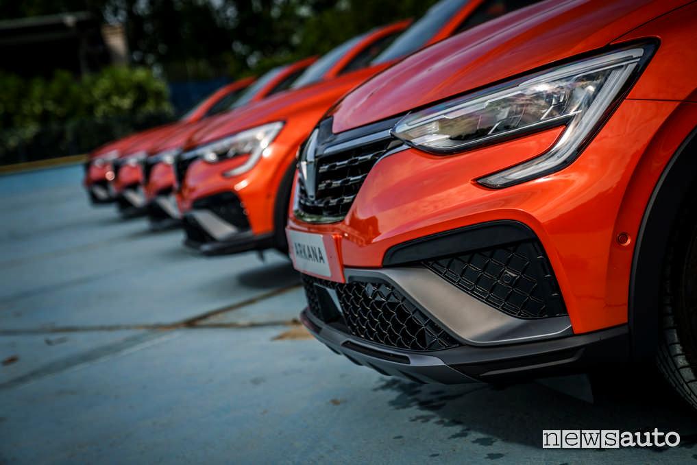 Fari Full Led Renault Arkana E-TECH