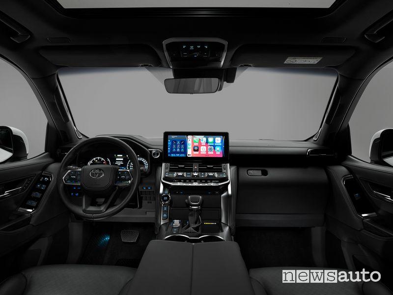 Plancia strumenti abitacolo nuovo Toyota Land Cruiser 300