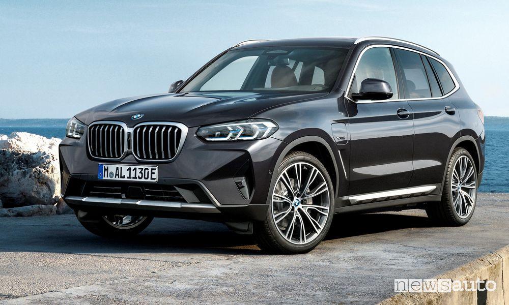 Nuova BMW X3 restyling