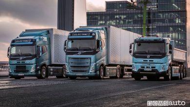Camion elettrici Volvo, caratteristiche, batteria e autonomia