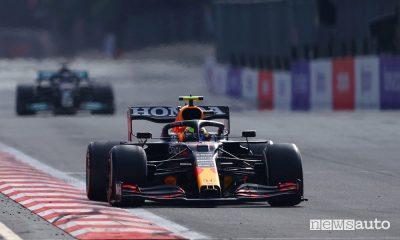 F1 Gp Azerbaijan, vittoria Red Bull con Perez [foto classifiche]