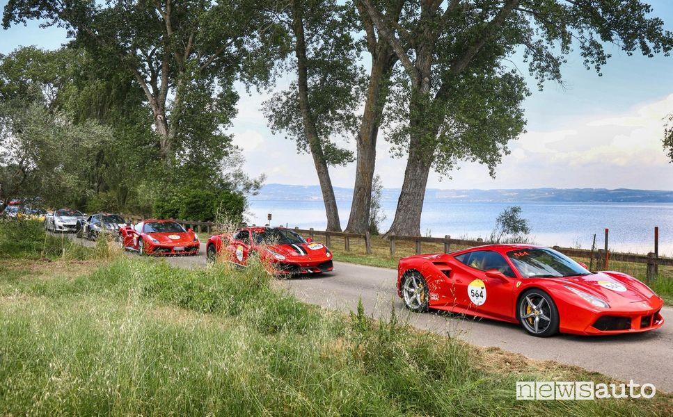 Ferrari Tribute alla Mille Miglia 2021