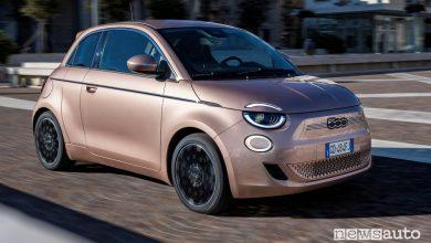 Fiat solo elettriche, dal 2025