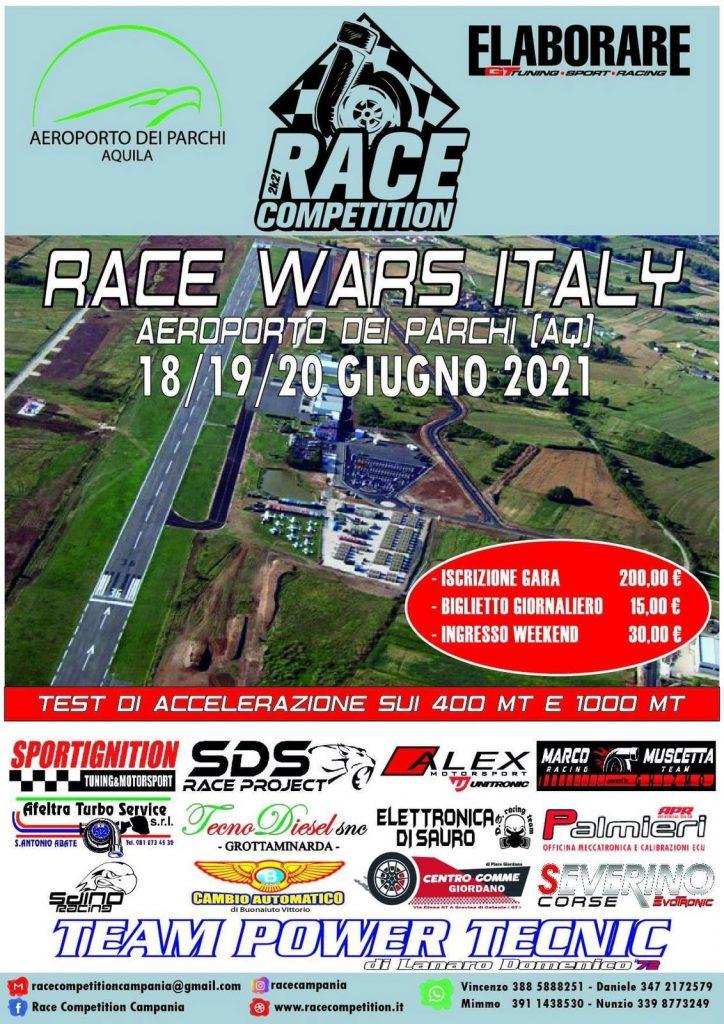 Gara di Accelerazione, evento che si svolge sull'Aeroporto dei Parchi di Preturo (L'Aquila)