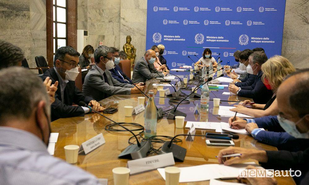Stellantis incontro al Ministero dello Sviluppo Economico