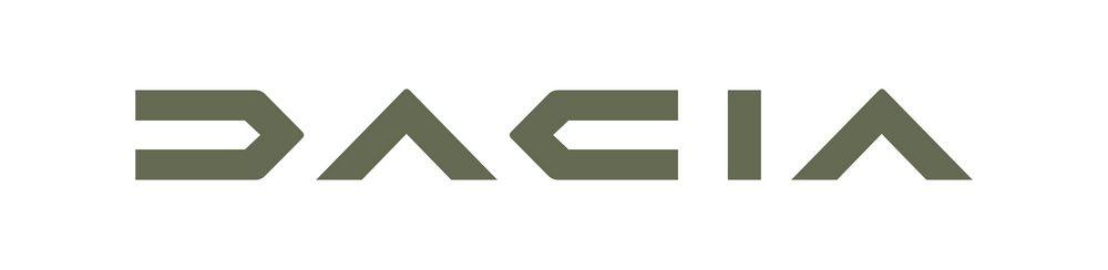 Nuovo logo Dacia, dove la D è una C invertita