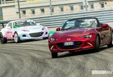 Mazda MX-5 drifting a Monza MiMo 2021