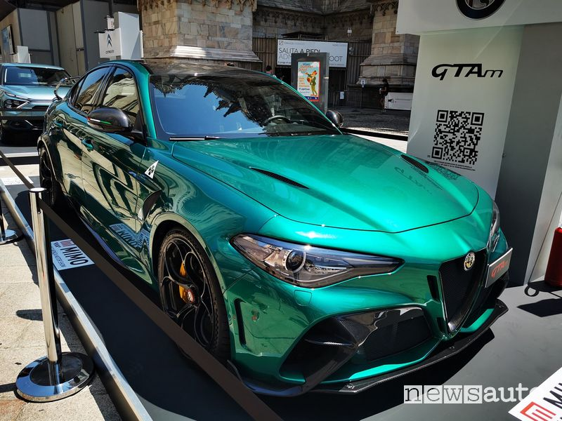 Alfa Romeo Giulia GTAm al MIMO Milano Monza Motor Show 2021