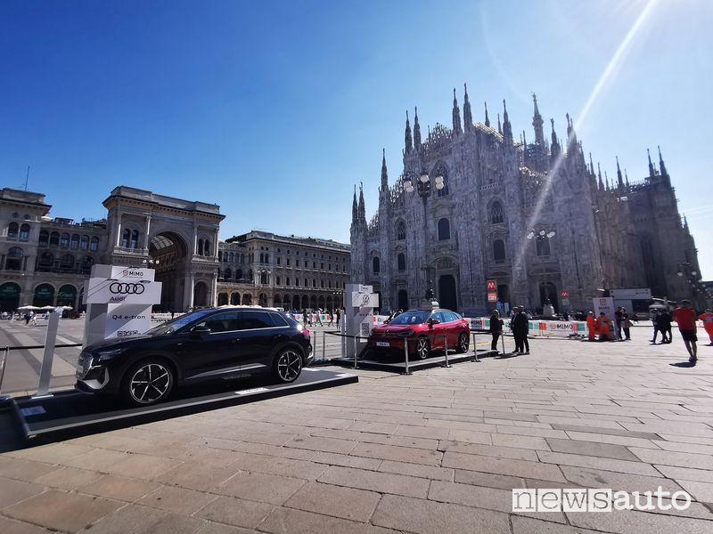 Milano Monza Motor Show 2021 esposizione auto QR Code