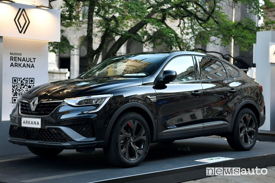 Renault Arkana in anteprima italiana al MIMO 2021