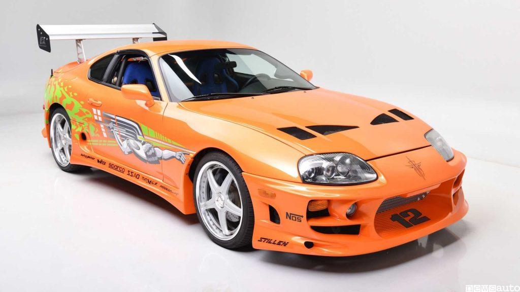 Toyota Supra di Paul Walker anteriore del fim Fast & Furious all'asta