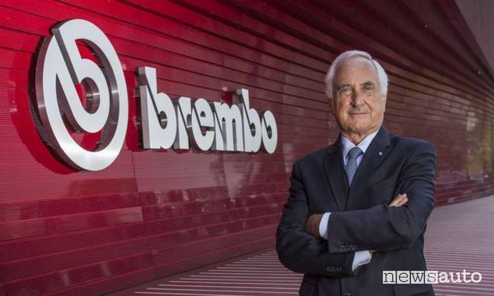 Presidente di Brembo, Alberto Bombassei