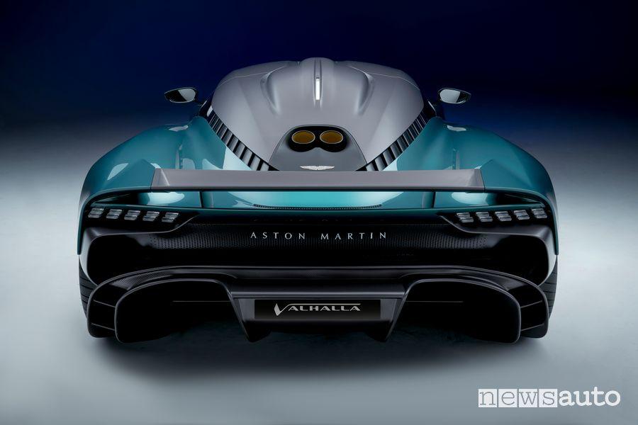 Posteriore Aston Martin Valhalla