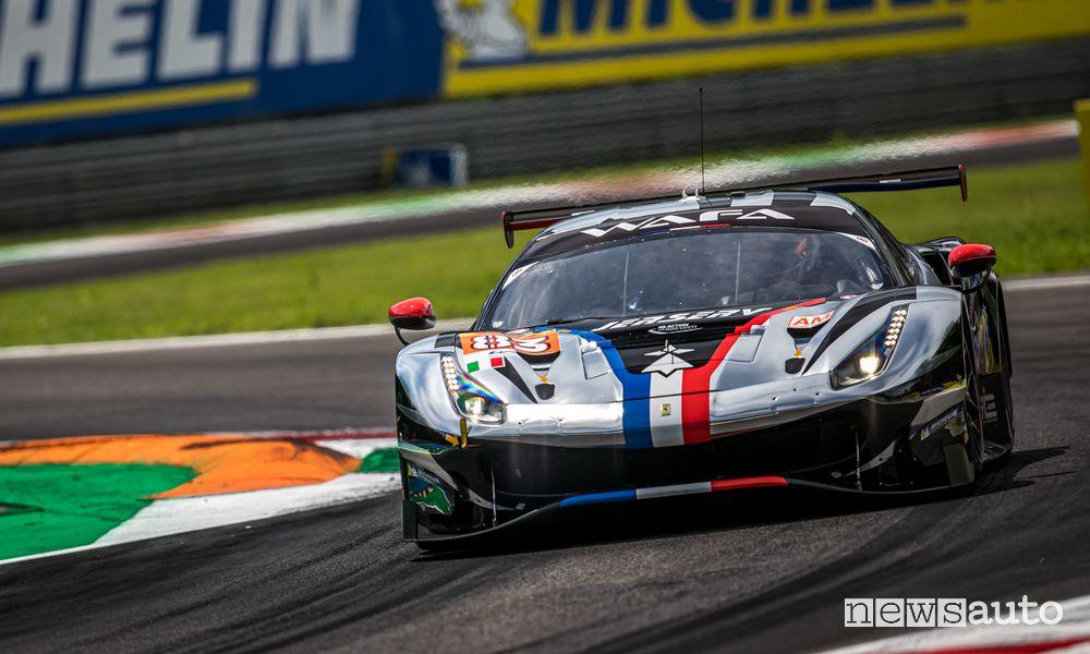 WEC 2021 6 Ore di Monza Ferrari 488 GTE vincitrice in classe Pro-Am