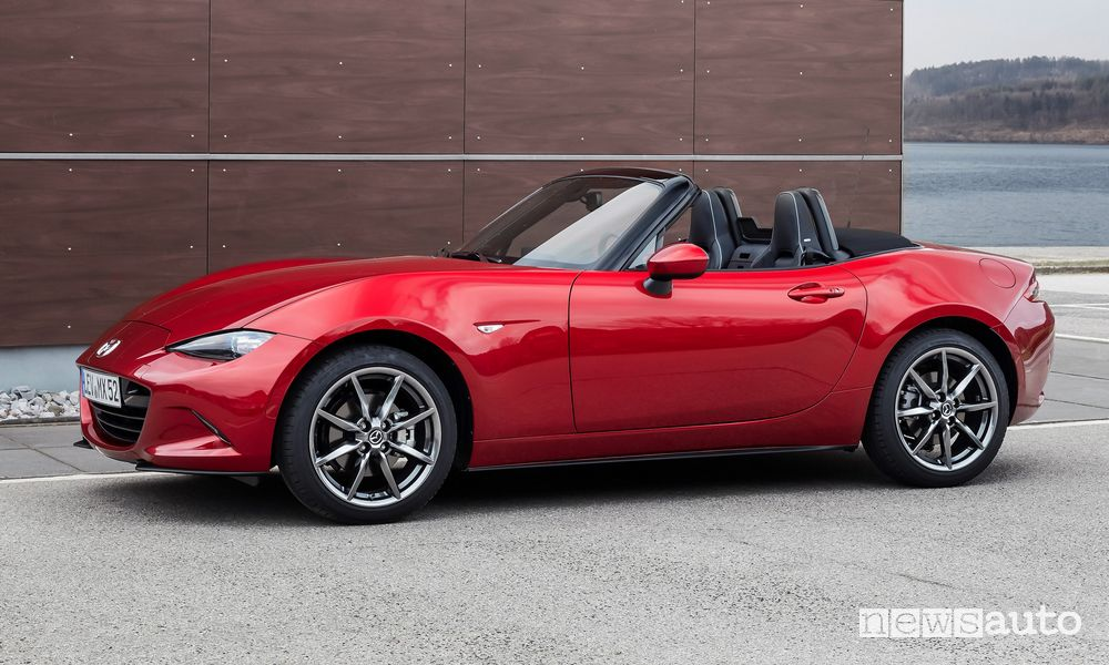 Colore Soul Red Crystal Mazda MX-5