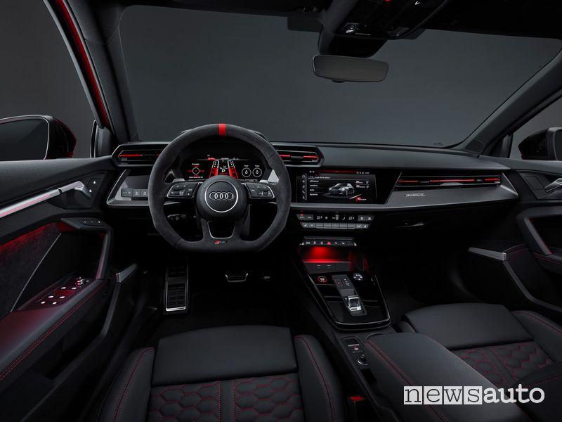 Plancia strumenti abitacolo nuova Audi RS 3 Sportback