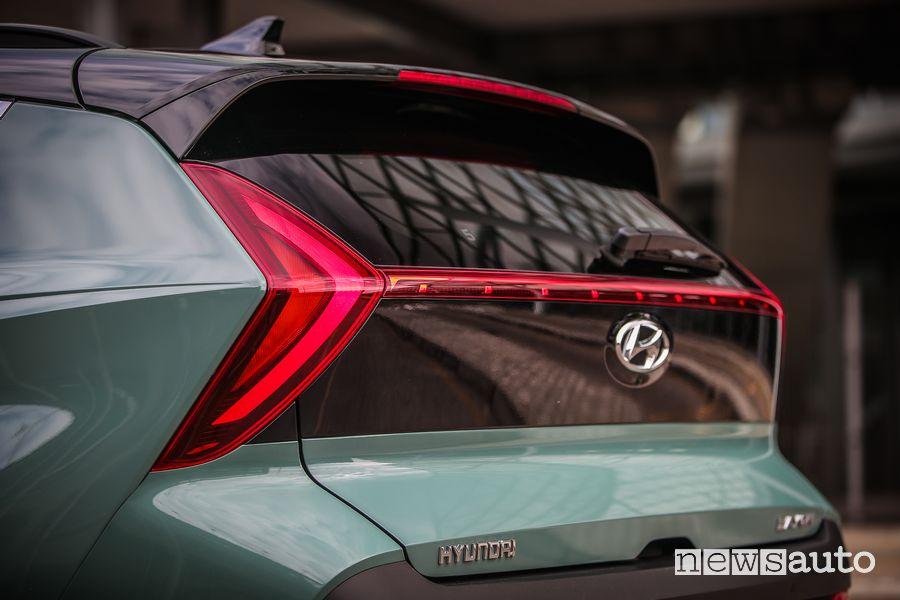 Portellone posteriore nuova Hyundai Bayon
