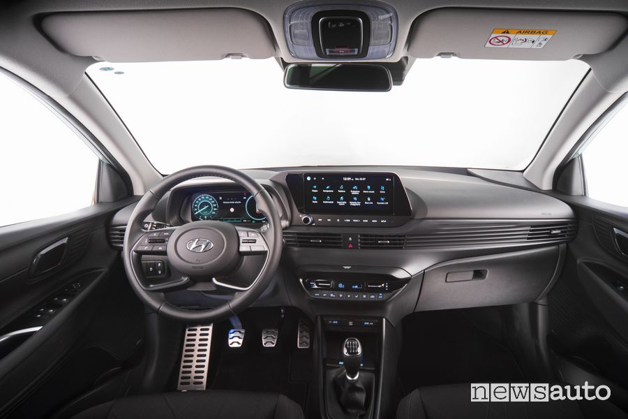 Plancia strumenti abitacolo nuova Hyundai Bayon