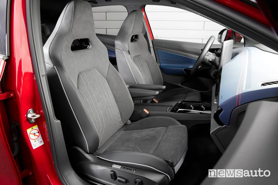 Sedili anteriori abitacolo Volkswagen ID.4 GTX
