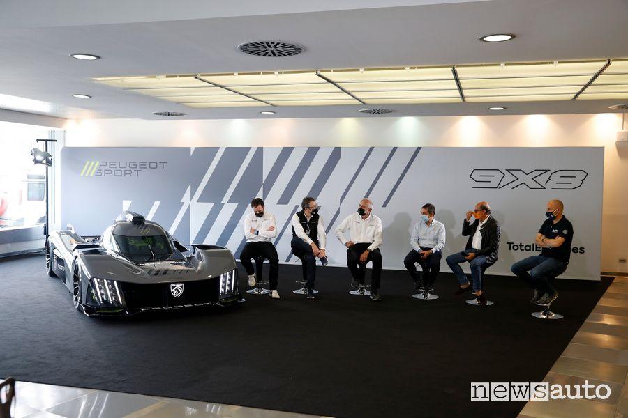 Presentazione Peugeot 9X8 Hypercar