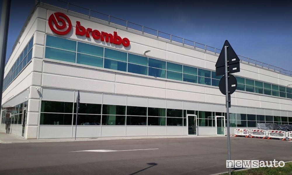 Dove cresce di più l'azienda Brembo?