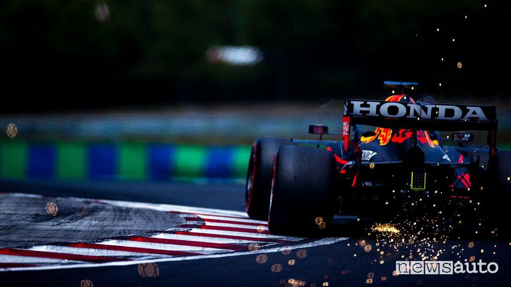Qualifiche GP Ungheria 2021 Red Bull Max Verstappen