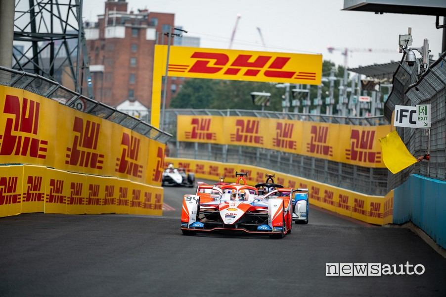 Alex Lynn ePrix Formula E Londra