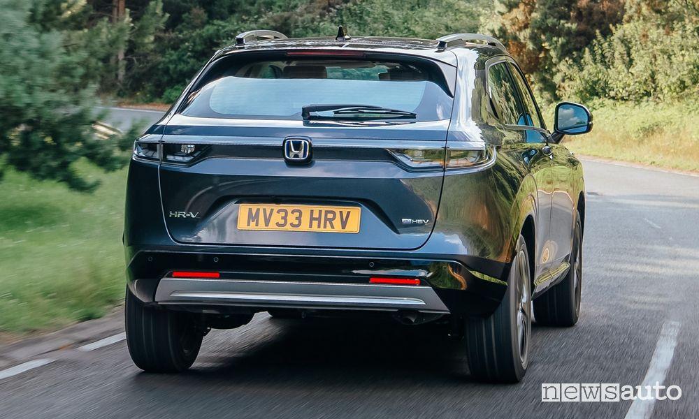 Motore ibrido Honda e:HEV modalità Sport, Econ e Normal