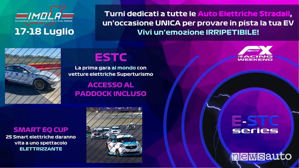 E-STC Series locandina gara inaugurale Imola