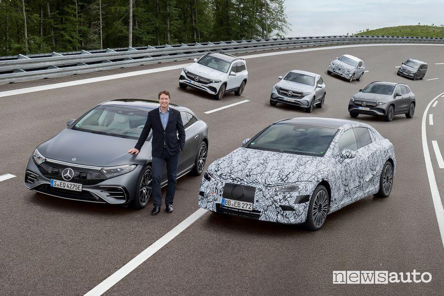Ola Källenius, CEO di Daimler AG e Mercedes-Benz AG