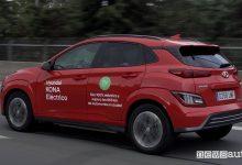 Autonomia auto elettrica, record con la Hyundai Kona
