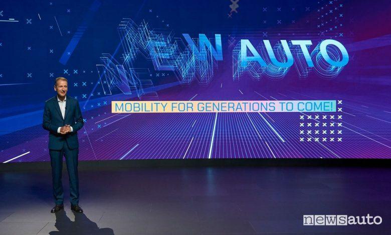 Volkswagen New Auto: strategia di elettrificazione, guida autonoma e software
