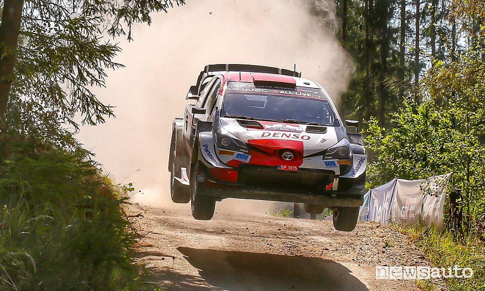 Wrc 2021 Rally Estonia Toyota Kalle Rovanperä