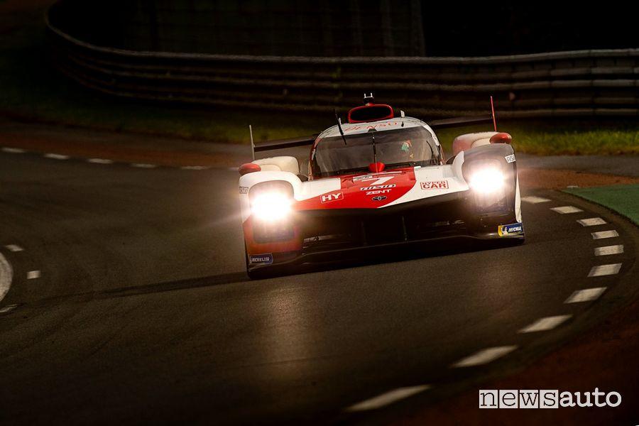 Toyota GR010 Hybrid #7 vincitrice della 24 Ore di Le Mans 2021