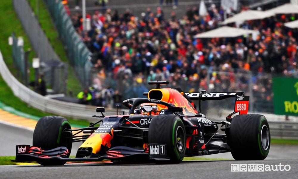 Qualifiche GP Belgio Red Bull Max Verstappen