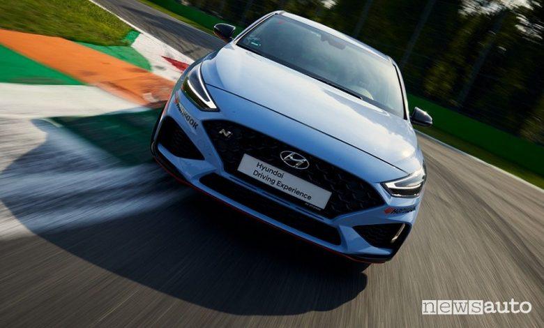 Hyundai i30 N Performance, la prova in pista a Monza