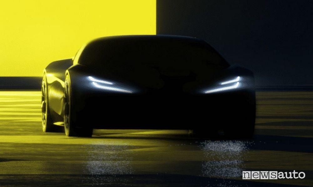 Lotus auto elettriche sportive