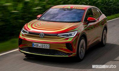 SUV elettrico Volkswagen, caratteristiche, autonomia della ID.5 GTX